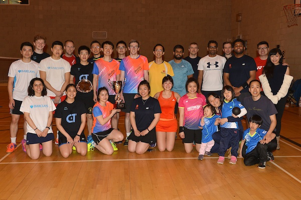 Corporate Badminton Team Tournament - 2019/2020